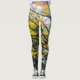 Autumn Trees Leggings