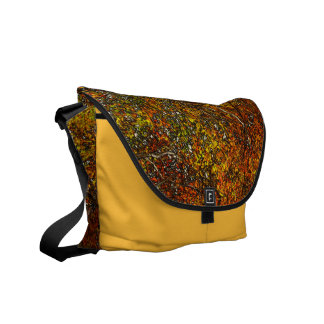 Autumn Trees Messenger Bag