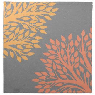 Autumn trees napkin