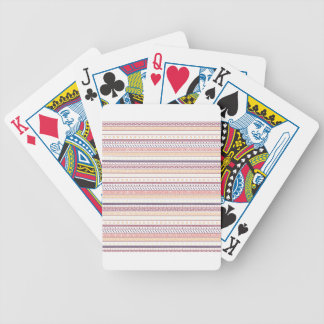 Autumn Tribal Bicycle Playing Cards