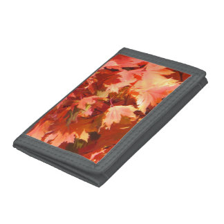 Autumn Trifold Wallets