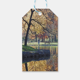 Autumn Trout Fishing Gift Tags
