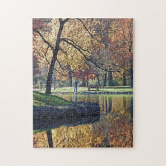 Autumn Trout Fishing Jigsaw Puzzle