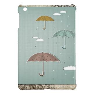 Autumn Umbrellas iPad Mini Covers