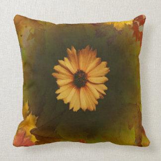 Autumn v. Spring Throw Pillow