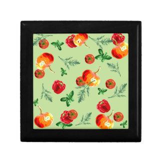 Autumn Vegan Print Jewelry Boxes
