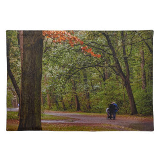 Autumn walk placemat
