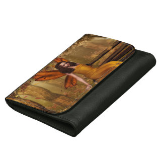 Autumn Leather Wallet For Women