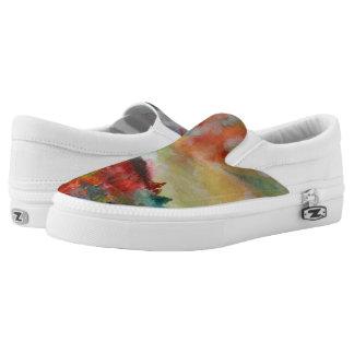 Autumn Watercolor Colors  Shoes