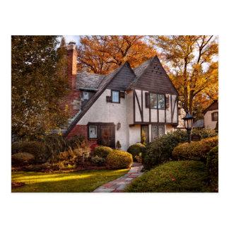 Autumn - Westfield, NJ - Visting grandpa's Postcard