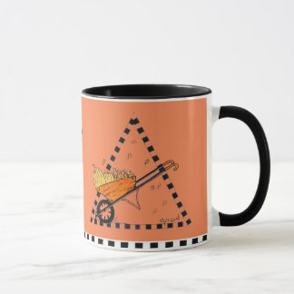 Autumn Wheelbarrow Mug