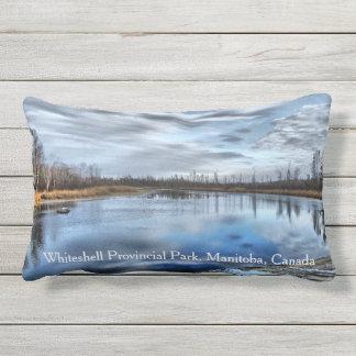 Autumn Whiteshell River Lumbar Pillow