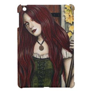 Autumn Witch Gothic Fantasy Art iPad Case