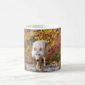 Autumn Wolf Coffee Mug