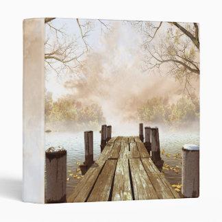 Autumn Wooden Pier Binder