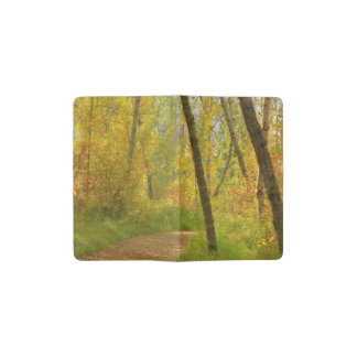 Autumn Woodlands Pocket Moleskine Notebook