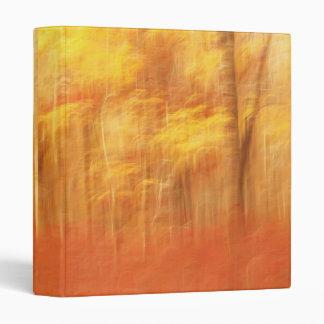 Autumnal abstract photo album binder