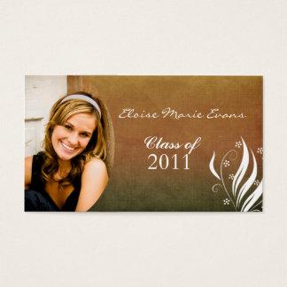 Autumnal Graduation Rep card