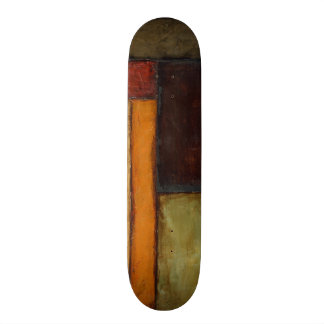 Autumnal Impressionist by Jennifer Goldberger Skateboard