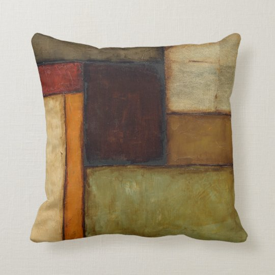 Autumnal Impressionist by Jennifer Goldberger Throw Pillow