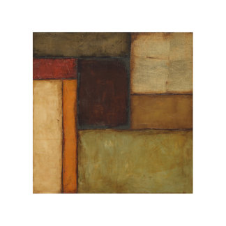 Autumnal Impressionist by Jennifer Goldberger Wood Wall Decor