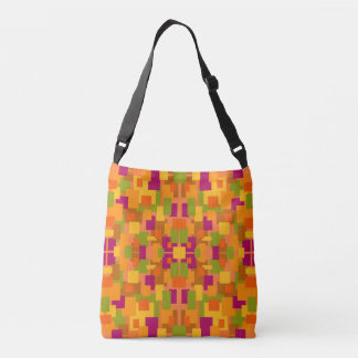 Autumnal Patch 2a & 2b Cross Body Tote Bag