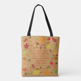 Autumnal Sunshine Tote Bag