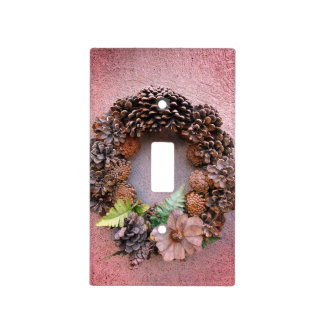 Autumnal Wreath Still Life Light Switch Cover
