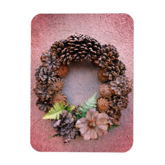 Autumnal Wreath Still Life Magnet