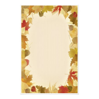 AutumnLeaves 2 Stationery