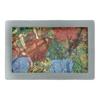 Autumns Dance Rectangular Belt Buckles