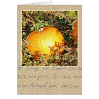 Autumn's Grace Card