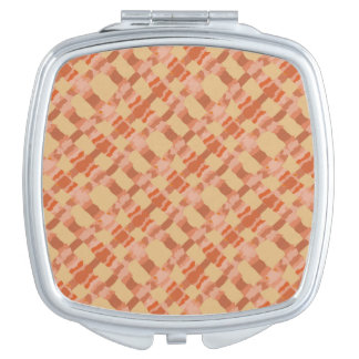 Autumn's Lattice Mirror For Makeup