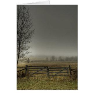 Autumns Pasture Card