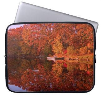 Autumn's Reflection Laptop Sleeve