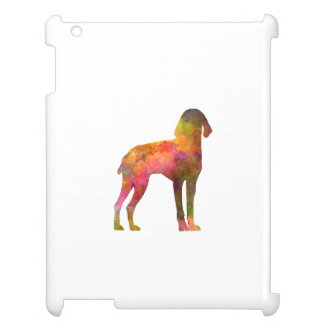 Auvergne Pointer in watercolor iPad Covers