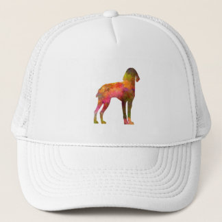 Auvergne Pointer in watercolor Trucker Hat