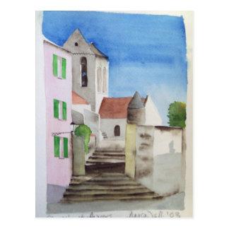 Auvers sur Oise, postcard 1