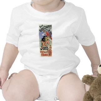 Aux Buttes Chaumont Baby Bodysuits