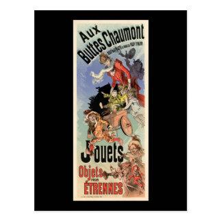 Aux Buttes Chaumont Postcards