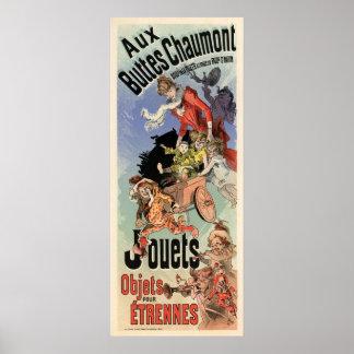 Aux Buttes Chaumont Poster