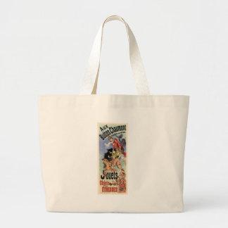 Aux Buttes Chaumont Tote Bags