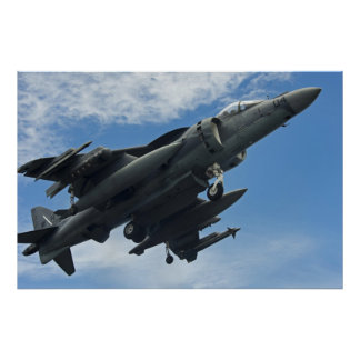 AV-8B Harrier assigned to the USS Bonhomme Richard Poster