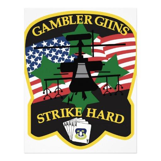av gambler guns customized letterhead
