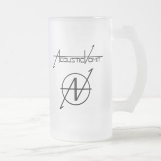 AV Name & Logo Frosted Mug