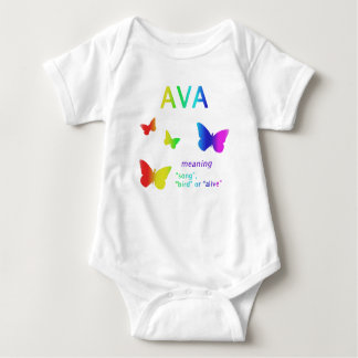Ava Gifts Ava Name Gifts Ava Baby Bodysuit