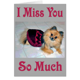 ava miss you card
