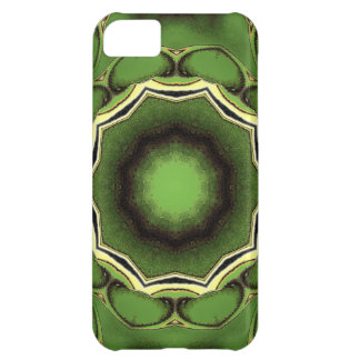 Avacado green with black lines iPhone 5C cases