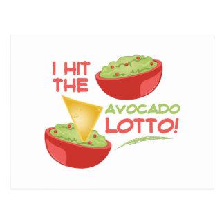 Avacado Lotto Postcard
