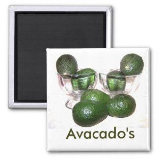 Avacado pretty Magnet